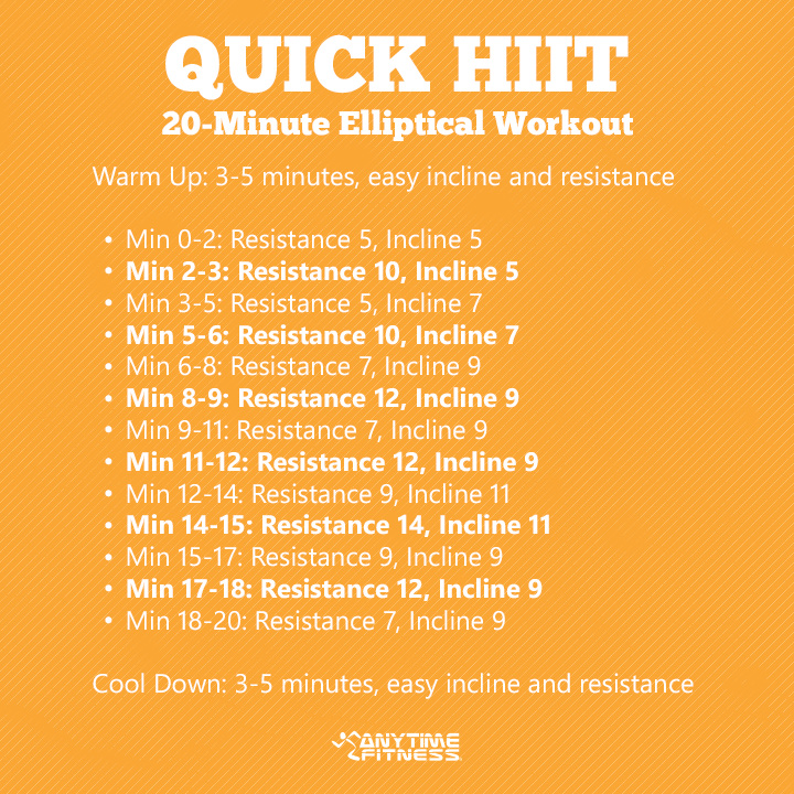 Printable Cardio Workouts: Try A HIIT Work Out Today!
