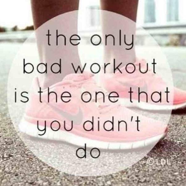No Bad Workout