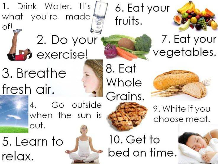 healthy ways of keeping fit