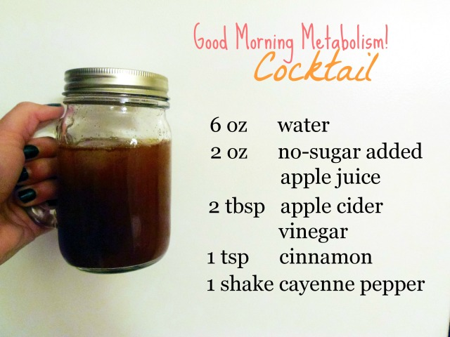Metabolism Boosting Cocktail
