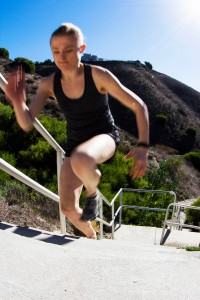 Running Up Stairs - PV