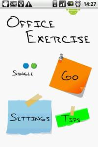 Create Reminders to Exercise at Work!