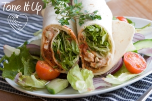 Image source:  www.toneitup.com/2013/09/greek-yogurt-chicken-salad-wrap/