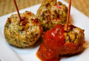 Image source:  www.toneitup.com/2013/12/member-recipe-quinoa-turkey-meatballs/
